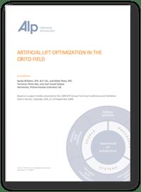 ALP - Artificial Lift Optimisation in the Orito Field